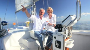 Sailboat Yachts Sailing for Active Seniors Elderly